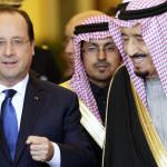 -فرانسیسی صدراور سعودی ولی عہد شہزادہ سلمان