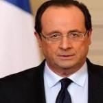 فرانس کے صدر فرانسو اولاند