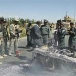 افغانستان کے جنوبی صوبے غزنی میں خودکش حملے میں چار سیکیورٹی اہلکار ہلاک