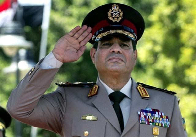 مصری فوج کے نامزد صدارتی امیدوار فیلڈ مارشل عبد الفتاح السیسی