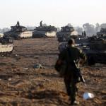قابض اسرائیلی فوج کی فلسطین کے محصور شہر غزہ کی پٹی کے شمال اور جنوب کے اطراف سے داخل ہو کر گولہ باری