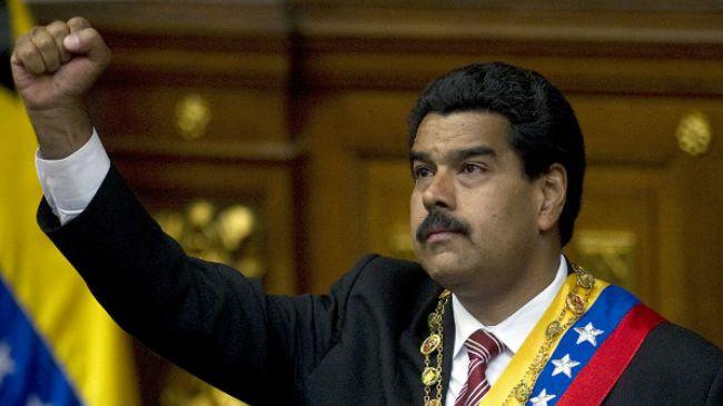 وینزویلا کے صدر Nicolas Maduro
