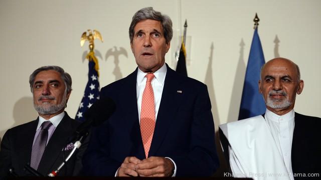 افغان حکومت اور امریکا کے درمیان کل سیکیورٹی معاہدے پر دستخط ہوں گے