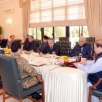 وزیر اعظم نواز شریف کی زیر صدارت قومی سلامتی کا اجلاس گزشتہ روز 5 گھنٹے جاری رہنے کے بعد ختم ہو گیا