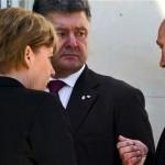 یوکرائن کے صدر Petro Poroshenko  15 جنوری کو روسی صدر ،جرمن چانسلر اور فراسیسی صدر سے ملاقات کریں گے