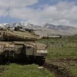 شام کی جانب سے اسرائیلی تنصیبات پر 4 راکٹ حملے کئے گئے تھے تاہم ان میں سے ایک اسرائیلی فوجی تنصیبات کے قریب گرا ہے