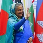 بنگلہ دیشی وزیر اعظم شیخ حسینہ واجد
