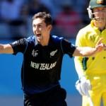 نیوزی لینڈ نے آسٹریلیا کو دلچسپ اور سنسنی خیز مقابلے کے بعد ایک وکٹ سے شکست دے دی