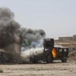 تکریت میں دولت اسلامیہ پر امریکہ کے فضائی حملے