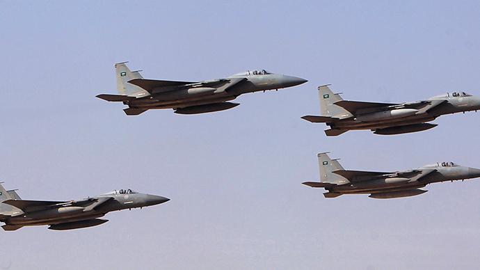 یمن میں شیعہ باغیوں کے خلاف سعودی عرب کی قیادت میں 10 ملکوں کی فضائیہ نے حملے شروع