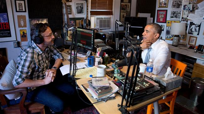 مارک مارون کے مزاحیہ پروگرام کے لیے podcast انٹرویو میں باراک اوباما نے کہا کہ ہم نسل پرستی پر حاوی نہیں پا سکے