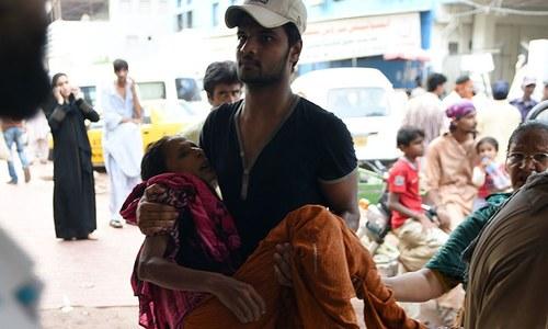 پاکستان میں شدید گرمی سے کم سے کم 300 اموات