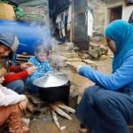 بھوک کے شکار لاکھوں شامی مہاجرین کی ہلاکت کا خدشہ