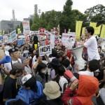 جاپانی پارلیمنٹ کے باہر ہزاروں افراد نے مجوزہ سیکیورٹی بل کے خلاف ایک بڑے مظاہرے میں شرکت کی