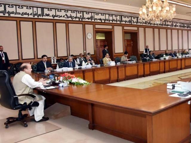Image result for وفاقی کابینہ اجلاس