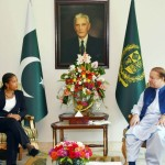 پاکستانی وزیر اعظم نواز  شریف اور امریکہ کی قومی سلامتی کی مشیر سوزن رائس