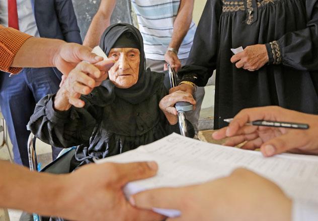 مصر میں پارلیمانی انتخابات کا پہلا مرحلہ