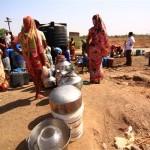 بھارت کے متعدد دیہا ت پانی کی کمی کا شکار