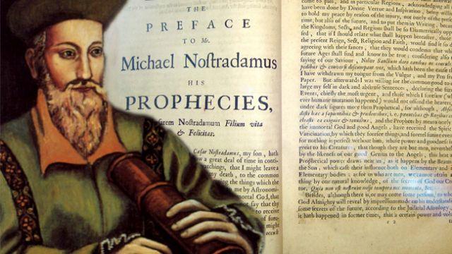 فرانس کا شہرہ آفاق ماہر علم نجوم نوسٹراڈیمس   اور ان کی پہلی کتاب Les Propheties