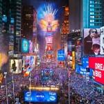 نئے سال کے استقبال کے لیے ٹائمز اسکوائر پر 10 لاکھ افراد کے آنے کی توقع ہے