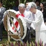 جاپان کے شہنشاہ اکی ہیتو اور ملکہ میچیکو