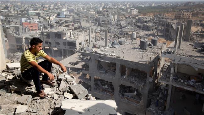 بمباری میں 12 ہزار مکانات مکمل طور پر ملبے کا ڈھیر بنا دی گئی