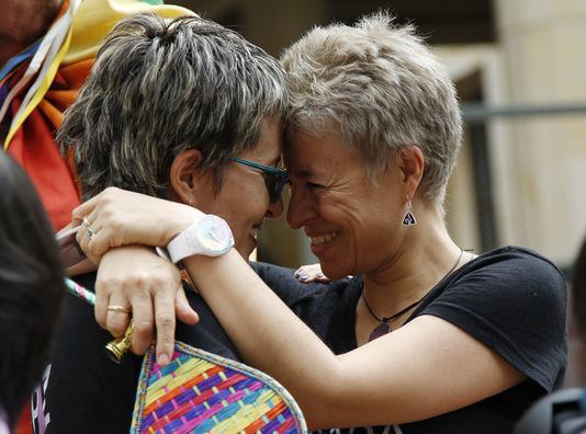 کولمبیا نے بھی ہم جنس پرست شادیوں کو قانونی قرار دے دیا
