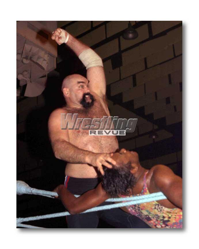 Ox Baker wrestling