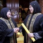 اسلامک ہائیکورٹ میں جج تعینات ہونے والی 40 سالہ نور ہدا روسلان اور 41 سالہ نینی شوہیدا شمس الدین