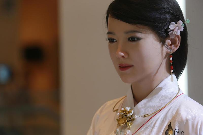 چینی روبوٹ حسینہ جیا جیا