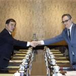 روس کے نائب وزیر خارجہ مارگولوف اور چین کے نائب وزیر خارجہ کانگ کوانگ یو