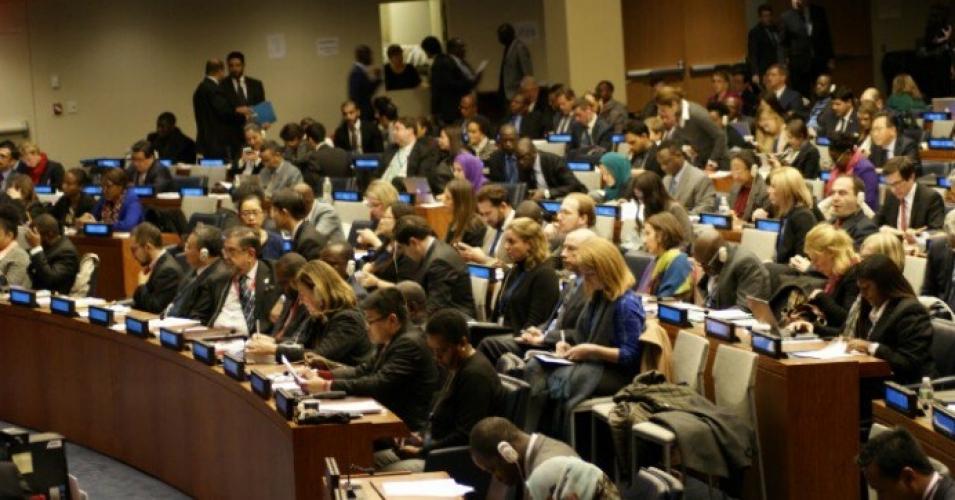 اقوام متحدہ کی جنرل اسمبلی میں قرارداد پر ہونے والی ووٹنگ میں 123 ممالک نے حق میں جبکہ صرف 38 ممالک نے مخالفت میں ووٹ ڈالا