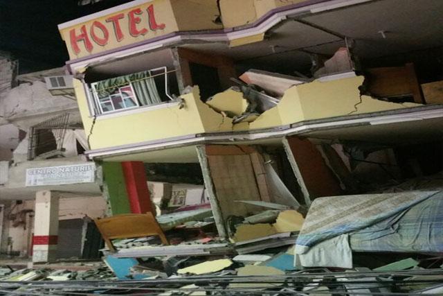 ایکواڈرو میں آنے والا زلزلہ تھا، جس کے نتیجے میں 233 افراد جان سے گئے