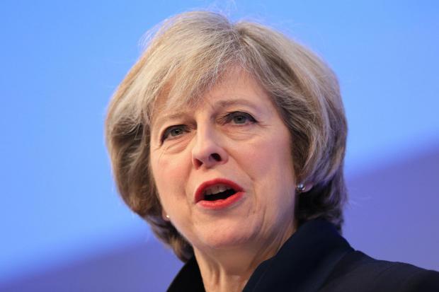 برطانوی وزیر اعظم تھریسامے