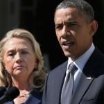 امریکی صدر براک اوباما،  ہیلری کلنٹن