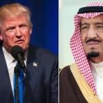 امریکی صدر ڈونلڈ ٹرمپ اور سعودی شاہ سلمان کے درمیان ٹیلی فونک رابطہ