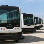 یہ خودکار بس جسے ای زی 10 (EZ10) کا نام دیا گیا ہے