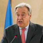 اقوام متحدہ کے سیکرٹری جنرل انتونیو گوٹیرش
