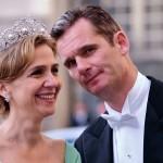 ہسپانوی شہزادی کرسٹینااور شوہر اناکی