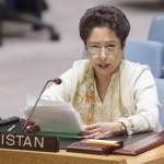 اقوام متحدہ میں پاکستان کی مستقل مندوب ملیحہ لودھی