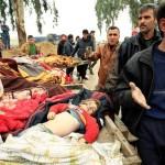 عراقی اور اتحادی فضائی کارروائیوں میں دو ماہ کی لڑائی میں 307 افراد ہلاک جبکہ 273 زخمی ہوئے