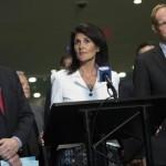 اقوام متحدہ میں امریکی سفیر نکی ہیلی