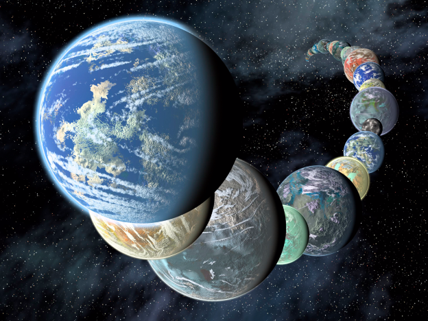 نئے دریافت ہونے والے سیاروں میں سے 10 سیارے زمین کے برابر ہیں