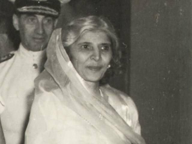 بانی پاکستان قائد اعظم محمد علی جناح کی ہمشیرہ محترمہ فاطمہ جناح