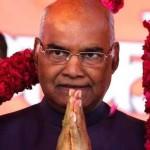 جبکہ رام ناتھ کووند 25 جولائی کو بھارت کے 14ویں صدر کا حلف اٹھائیں گے