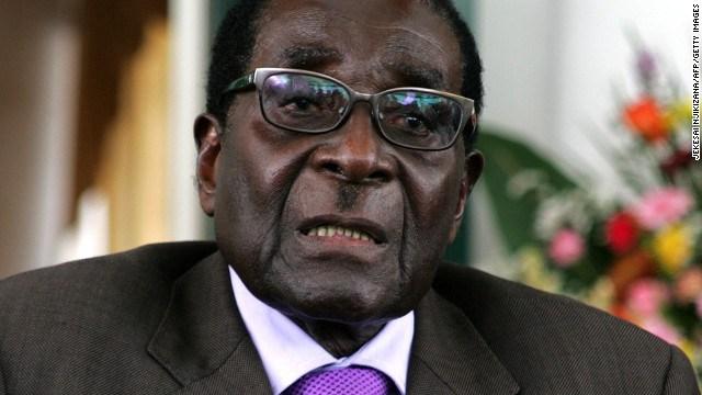 زمبابوے کے 93 سالہ صدر رابرٹ موگابے