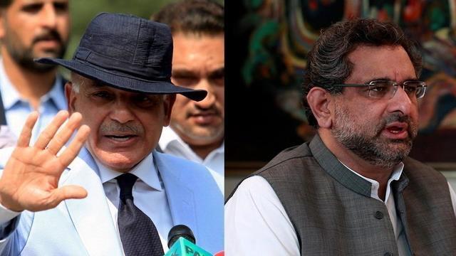 شاہد خاقان عباسی عبوری وزیرِ اعظم، جبکہ شہباز شریف متبادل وزیر اعظم نامزد