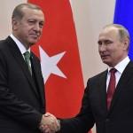 ترکی میں اردگان اور پیوٹن کی ملاقات