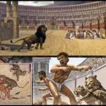 روم کی عظیم سلطنت میں غلامی اپنی بدترین شکل میں رائج تھی اور غلام کو انسان کا درجہ حاصل نہیں تھا