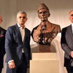 برطانوی میوزیم میں قائد اعظم محمد علی جناح کے مجسمے کی تقریب رونمائی